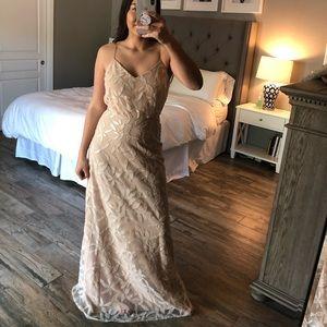 WAYF Beaded Formal Dress